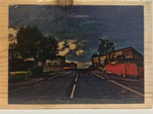 Panel 2 of  2014 Acrylic Gel Print Photograph on Wood by Helen McNulty